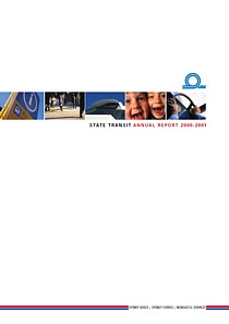state transit annual report 2001 cover thumbnail