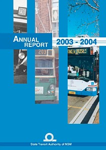 state transit annual report 2004 cover thumbnail