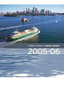 sydney ferries annual report 2006 cover thumbnail