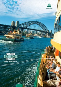 sydney ferries annual report 2008 cover thumbnail