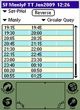 TrainSched v1.0 Manly Ferry thumbnail